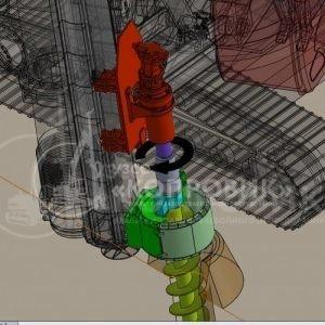 """СВАЕБОЙНО - БУРИЛЬНАЯ УСТАНОВКА МКЭ-М, Технология бурения телескопическим шнеком 4, УЗСО """"Копровик"""""""