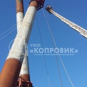 """УЗСО """"Копровик"""", монтаж сваебойного оборудования на строительстве Крымского моста. Гидромолот Newton D-18, установка сваи"""