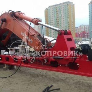 """Монтаж мачты КЭ14Б-2СК 2 УЗСО """"Копровик"""""""