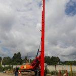 Выпущена полноповоротная копровая установка МКЭ-12С-П2М