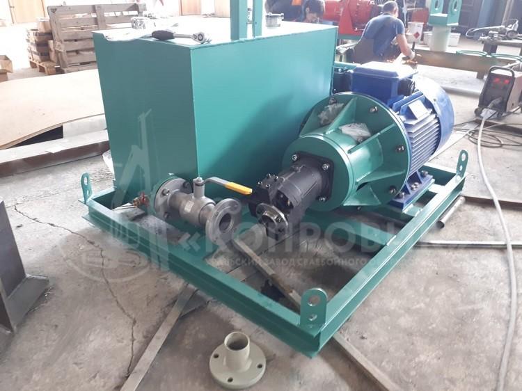 Гидростанция электрическая для подключения гидравлического копрового оборудования к электрическим кранам, производство Копровик