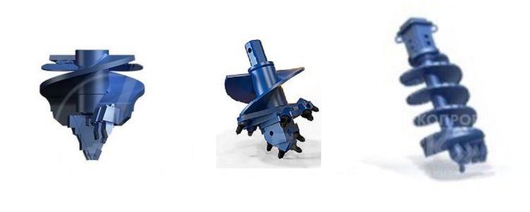 Бурильный инструмент для скважин под сваи, купить в Екатеринбурге - завод