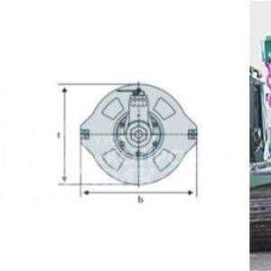 "ОПУ - обсадное поворотное устройство для бурения под сваи производства УЗСО ""Копровик"""