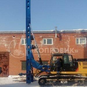 "Копровая мачта МКЭ-14С new с жестким кронштейном - УЗСО ""Копровик"""