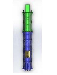 """Подвесная направляющая система (клеть) для трубчатых дизель-молотов - УЗСО """"Копровик"""""""