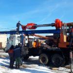 Новая продукция: автомобильная копровая мачта МКА-12С-СК