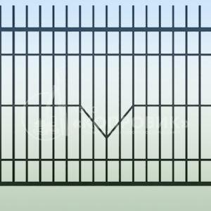 Сварной забор - изготовление металлоконструкций на заводе Копровик