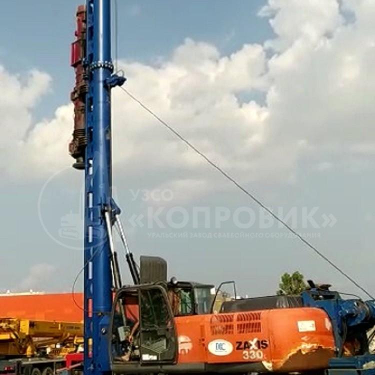 Сваебойная установка 750 МКЭ-14С-15.new с молотом - Копровик